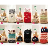 珊瑚絨寶寶襪 卡通防滑地板襪-禮盒裝 SS1229 好娃娃