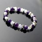 【喨喨飾品】紫水晶手鍊 智慧之石A181
