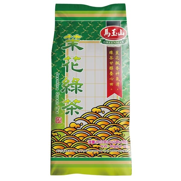 【馬玉山】茉花綠茶40公克x2入/包(免濾茶包)