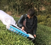 蒙馳新款多功能單人小型采茶機家用便攜式茶樹茶葉剪采茶葉修剪機JD 交換禮物