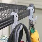 【居家cheaper】菱型網/厚鐵框專用恐龍小掛勾(4入1組)