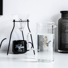 述物原創 冷水壺玻璃耐熱家用夏天耐高溫防爆涼白開水辦公室茶壺