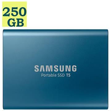 [免運]  SAMSUNG SSD Portable T5 250GB 250G [MU-PA250B] 三星 移動式固態硬碟