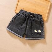 女童牛仔短褲薄款夏裝9百搭4中大兒童5三分6休閒褲子7外穿洋氣8歲 韓語空間