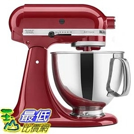 [104美國直購] KitchenAid KSM150PSER Mixer Artisan Series with Pouring Shield, 325-watt,  攪拌機