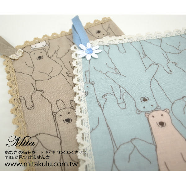 *Mita*MI-0481 手拭巾 日本進口100%棉 熊