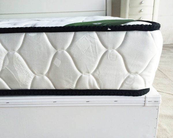 獨立筒床墊【YUDA】英式舒眠【軟硬適中+3M防潑水】 黑二線 3.5尺 單人 獨立筒/彈簧床墊
