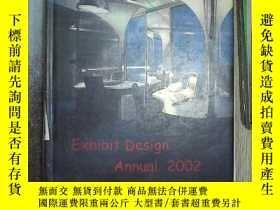 二手書博民逛書店EXHIBIT罕見DESIGN ANNUAL 2002 2002