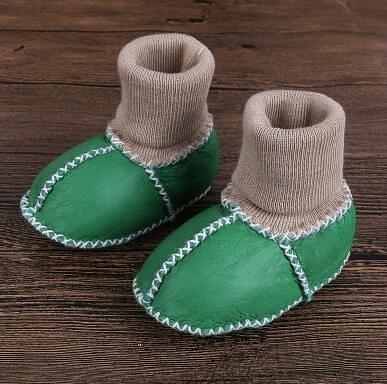 學步鞋 秋冬季0-3-6月1歲男女寶寶棉鞋學步加絨軟底不掉保暖【快速出貨八折促銷】