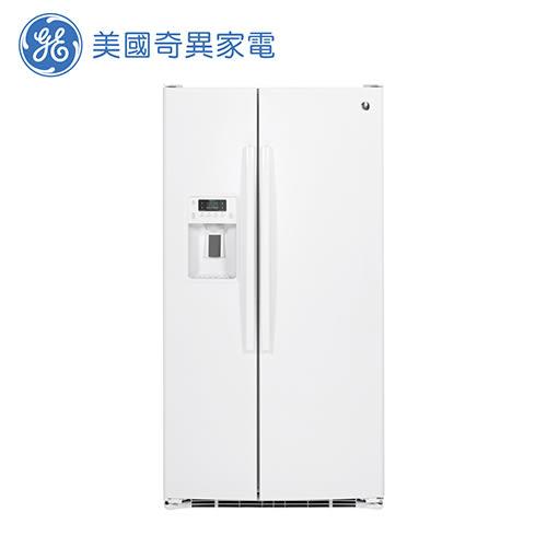 [GE 美國奇異家電]733公升白色對開冰箱 GSS25GGWW