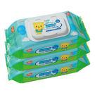combi 超純水80抽濕/濕紙巾/柔濕巾 3入超值包