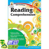 [106美國直購] 2017美國暢銷軟體 Reading Comprehension, Grade 4 (Skill Builders)