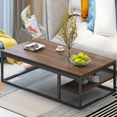茶幾簡約沙發邊桌茶桌客廳家用鐵藝矮桌現代創意小戶型方桌邊幾YYP 町目家
