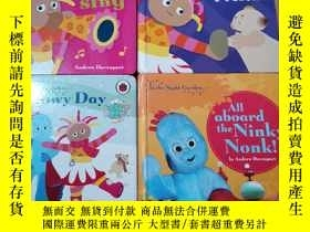 二手書博民逛書店In罕見the Night Garden:A Lovely Present Snowy Day等4本合售Y24