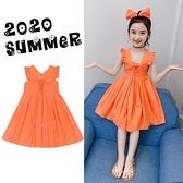 童裝女童洋裝2021夏裝新款洋氣網紅女孩夏季公主裙兒童夏款裙子 幸福第一站