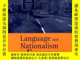 二手書博民逛書店Language罕見And Nationalism In Eur