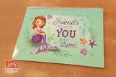 [百冠] 小公主蘇菲亞 剪貼本 圖畫本