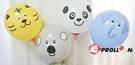 【大倫氣球】動物氣球組-B款- Animal Balloons B 附動物臉孔貼紙 with stickers 派對、party