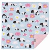 日本今治製有機優質純綿方巾 /  馬來貘與花【 Prairiedog】