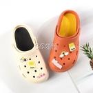 洞洞鞋女學生韓版卡通可愛春新款厚底增高軟底防滑包頭護士鞋