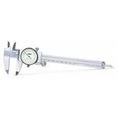 INSIZE 奧地利錶型游標卡尺 150mm/0.01mm 經典卡尺 金屬游標規尺 1311-150A