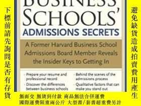 二手書博民逛書店The罕見Best Business Schools Admissions SecretsY256260 C