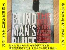 二手書博民逛書店Blind罕見Mans Bluff【盲人的絕壁,英文原版】硬精裝