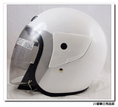 【ASIA 702 基本款 素色 安全帽 白 安全帽】蓋耳基本款、3/4罩、半罩