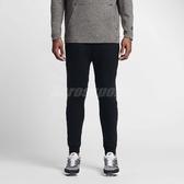 Nike 長褲 NSW Tech Fleece Jogger Pants 黑 縮口褲 束口 緊身 男款 【PUMP306】 805163-010
