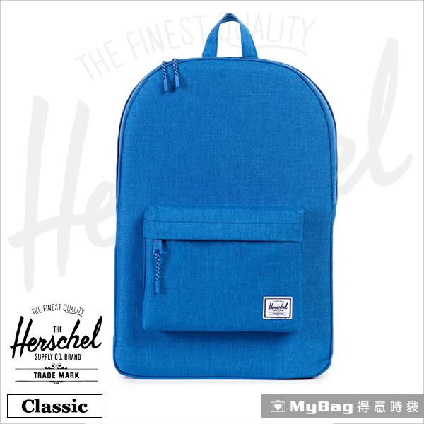 Herschel 後背包 海藍色 經典後背包 Classic-909 MyBag得意時袋