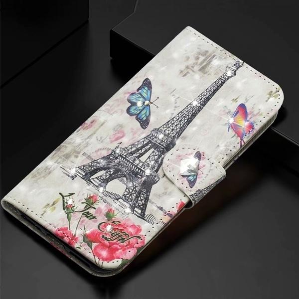 小米 小米10 Lite 小米 10T Pro 紅米Note9 Pro CY-3D彩繪皮套 手機皮套 掀蓋殼 插卡 支架