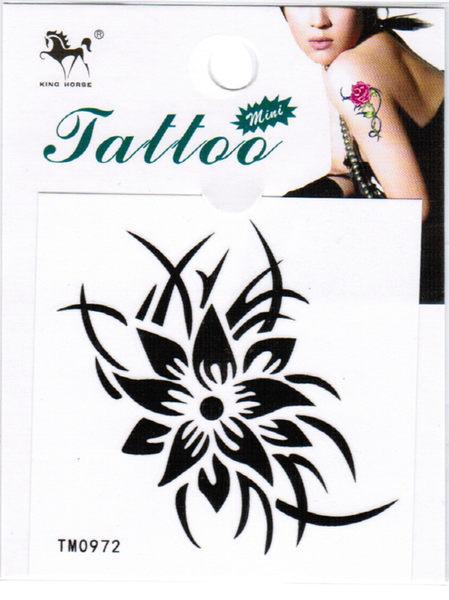 薇嘉雅        超炫圖案紋身貼紙 TM0972