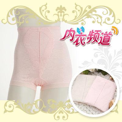 內衣頻道 A7738-台灣製.高腰緹花修飾束褲M~Q,3入組
