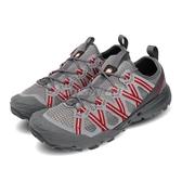Merrell 戶外鞋 Choprock 灰 紅 男鞋 水陸兩棲 運動鞋 【ACS】 ML033533
