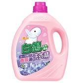 白鴿 抗菌洗衣精(小蒼蘭)3500g【愛買】