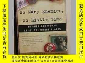 二手書博民逛書店英文原版罕見So Many Enemies,So Little
