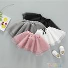 短裙女童紗裙半身裙夏1一3-5歲2019新款兒童網紗裙子