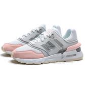 NEW BALANCE 997S 白粉 銀 反光 休閒鞋 女 (布魯克林) WS997GFJ