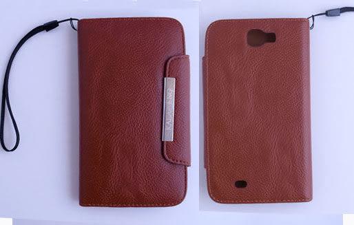 KALAIDENG 卡來登 Samsung GALAXY Note II(GT-N7100) 側掀式 皮套/保護殼/保護蓋/保護套 清爽系列 白色可選