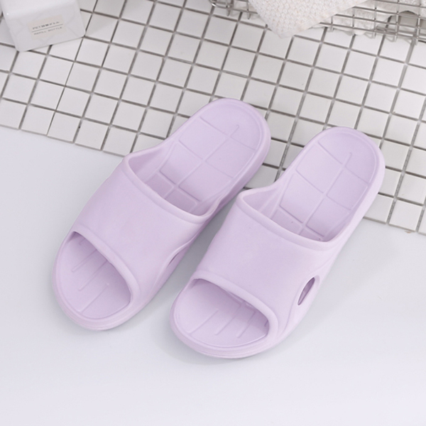 【333 家居鞋館】簡約主義 純色流線中性拖鞋-粉