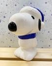 【震撼精品百貨】史奴比Peanuts Snoopy~陶瓷存錢筒(聖誕藍帽)*17943