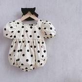 網紅嬰兒衣服夏裝可愛包屁衣純棉超洋氣女寶寶公主哈衣連身衣韓版 幸福第一站