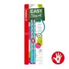 STABILO 德國 思筆樂 EASYgraph 洞洞鉛筆 淺藍色 右手筆 2支入 / 組 B-50650-10