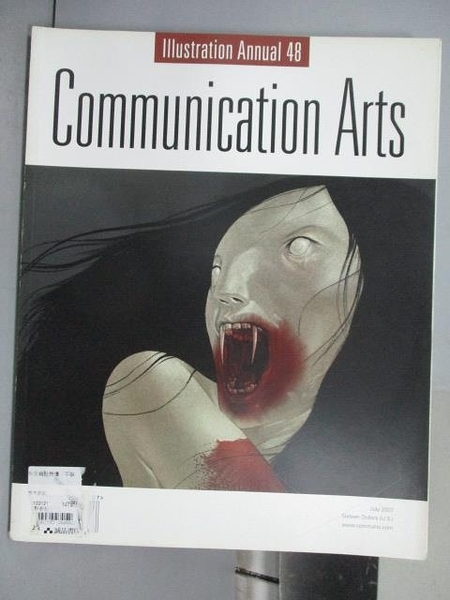 【書寶二手書T9/設計_QNO】Communication Arts_353期_illustration Annual