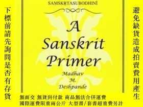 二手書博民逛書店Samskrta-subodhini:罕見A Sanskrit Primer (michigan Papers O