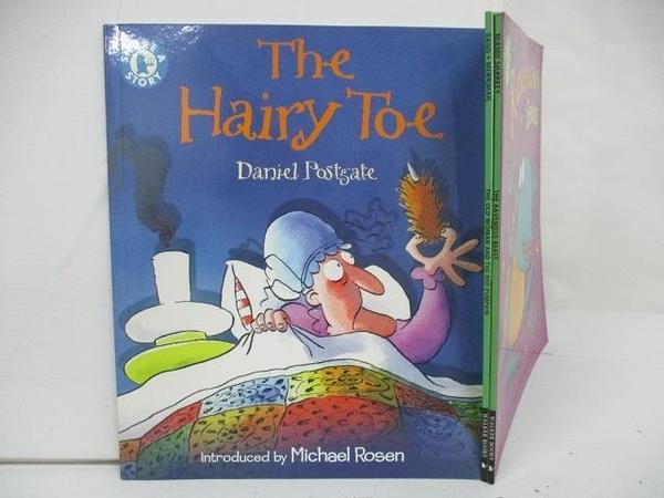 【書寶二手書T1/少年童書_DYL】The Hairy toe_The Ravenous Beast等_3本合售