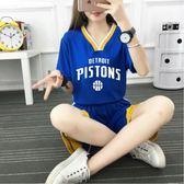 籃球服女套裝女生韓版球服定制學生短袖籃球隊服女子印號字比賽服