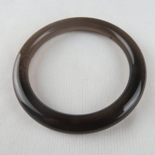 天然黑曜石手鐲 #1406 58.5mm