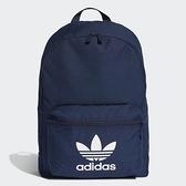 【一月大促折後$1380】adidas Originals ADICOLOR CLASSIC 經典 內夾層 藍 Logo 雙肩背包 三葉草 可手提 ED8668