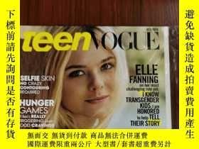 二手書博民逛書店teen罕見Vogue 2015年10月 英文版Y42402